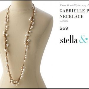 Stella & Dot Gabrielle Pearl Necklace